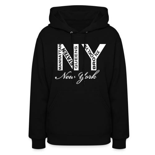 New York Women Hoody - Women's Hoodie