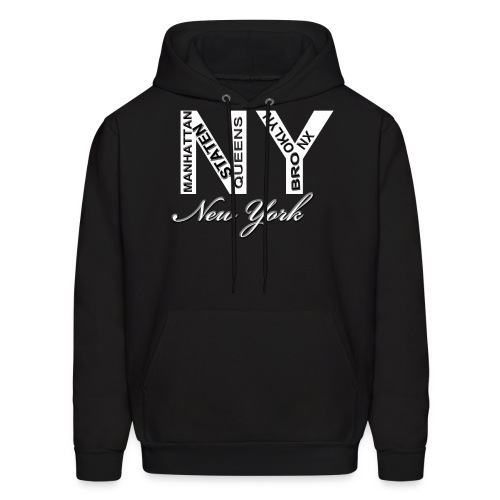 New York Men Hoody - Men's Hoodie