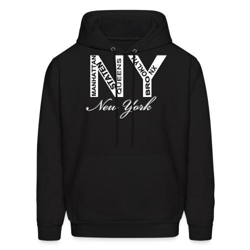 New York Men Hoody - Men's Hoodie