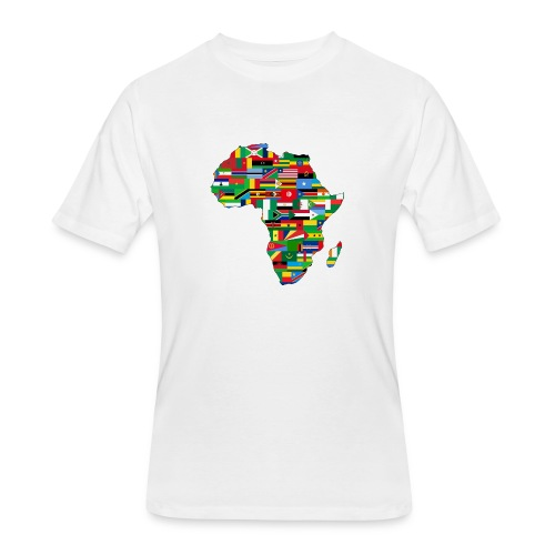Mens of Flags of Africa - Men's 50/50 T-Shirt