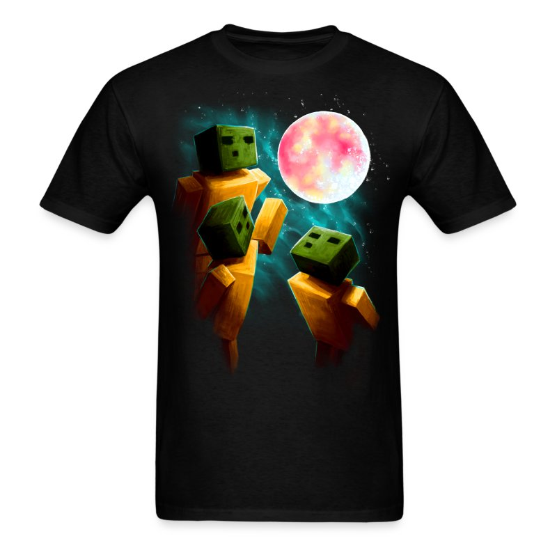 3 Sp00ns and a Moon - Men's T-Shirt