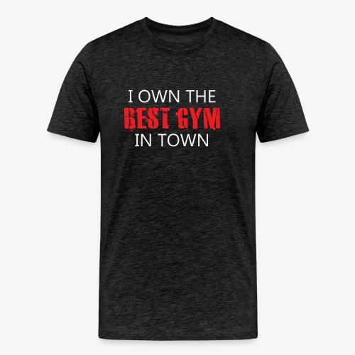 Gym Owner Men's Tshirt - Men's Premium T-Shirt