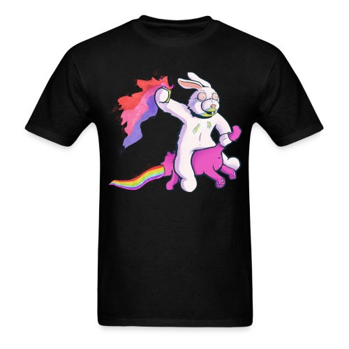 Fun Bunny Ride - Men's T-Shirt