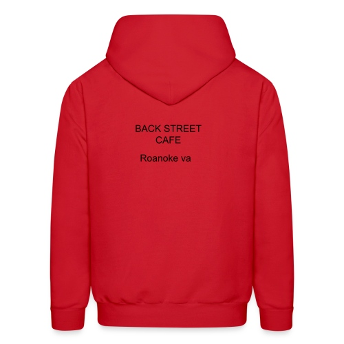 backstreet cafe roanoke va  - Men's Hoodie