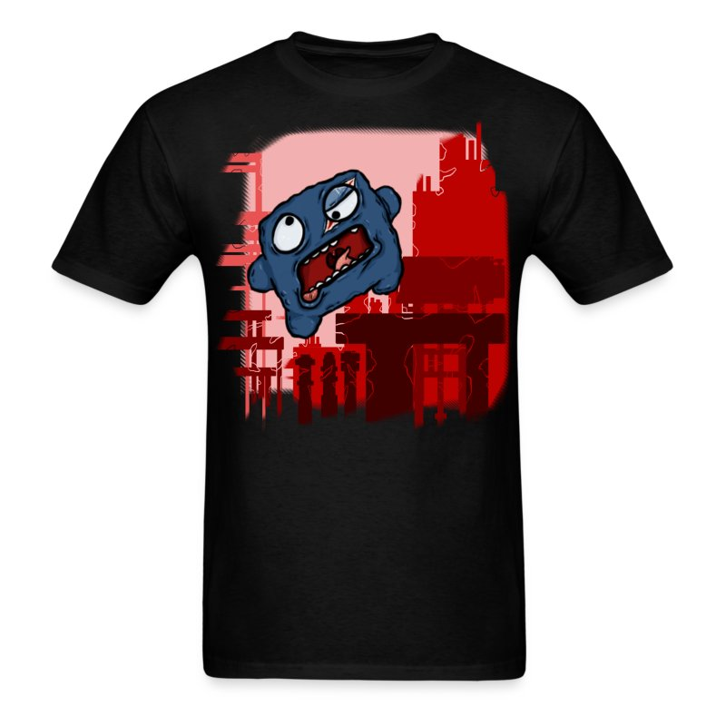 Cookie Meat Boy Design #1 - Men's T-Shirt
