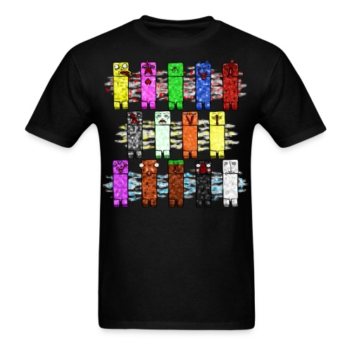 Elemental Creeps Design #2 - Men's T-Shirt