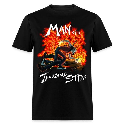 Man of a Thousand STDs - Men's T-Shirt