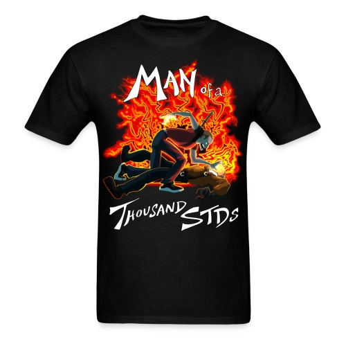 Man of a Thousand STDs - Men's T-Shirt
