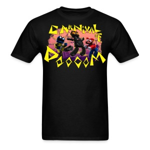 Carnival of Dooooom w/Text - Men's T-Shirt