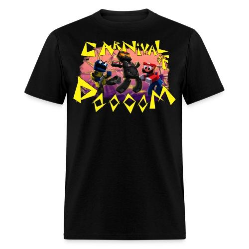 Carnival of Dooooom w/Text - Men's T-Shirt