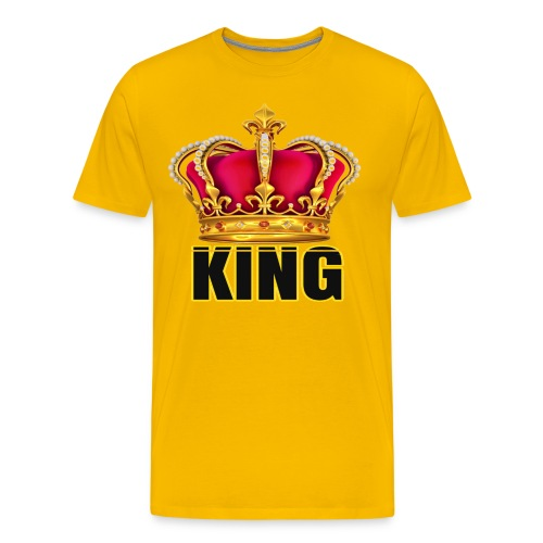 KINGS CROWN T-SHIRT - Men's Premium T-Shirt