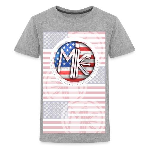 M.I.K.E. FLAG (Kids) - Kids' Premium T-Shirt
