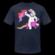 T-Shirts ~ Men's T-Shirt by American Apparel ~ Fun Bunny Ride