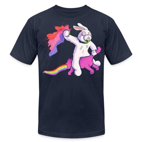 Fun Bunny Ride - Men's Fine Jersey T-Shirt