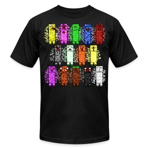 Elemental Creeps Design #1 - Men's T-Shirt by American Apparel