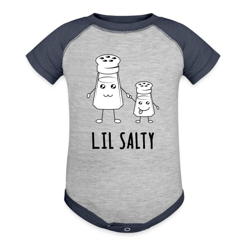 Lil Salty (Kids) - Contrast Baby Bodysuit