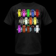 T-Shirts ~ Men's T-Shirt by American Apparel ~ Elemental Creeps Design #2