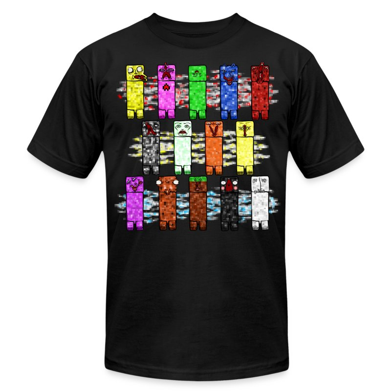 Elemental Creeps Design #2 - Men's Fine Jersey T-Shirt