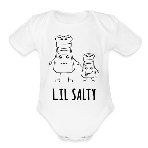 Lil Salty (Kids) - Organic Short Sleeve Baby Bodysuit
