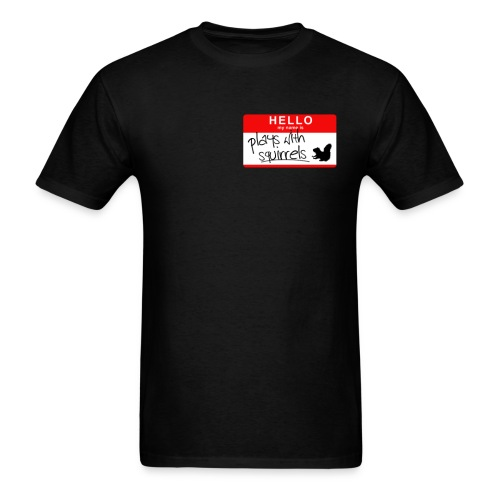 Men's Plays with Squirrels - Men's T-Shirt