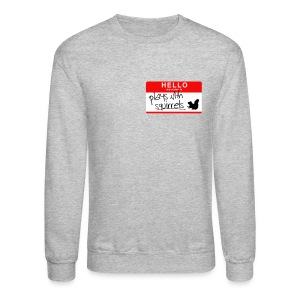 Plays with Squirrels Crewneck - Crewneck Sweatshirt