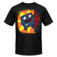 T-Shirts ~ Men's T-Shirt by American Apparel ~ Cookie Meat Boy Design #2
