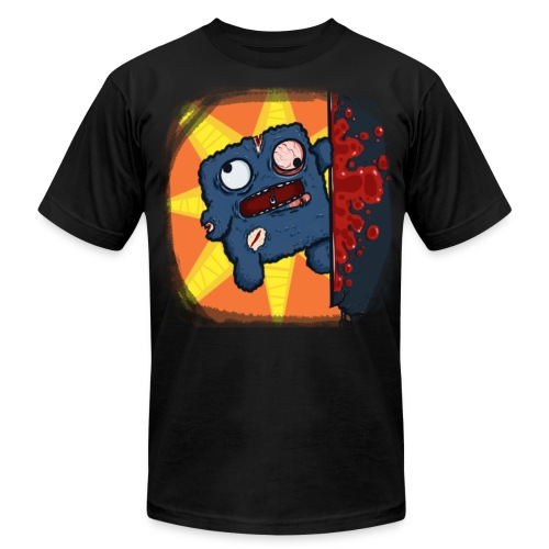 Cookie Meat Boy Design #2 - Men's T-Shirt by American Apparel