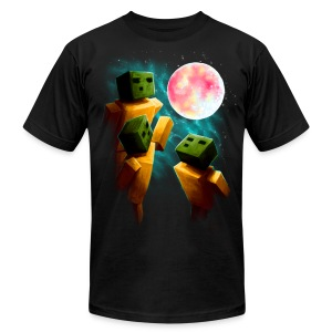 3 Sp00ns and a Moon - Men's T-Shirt by American Apparel
