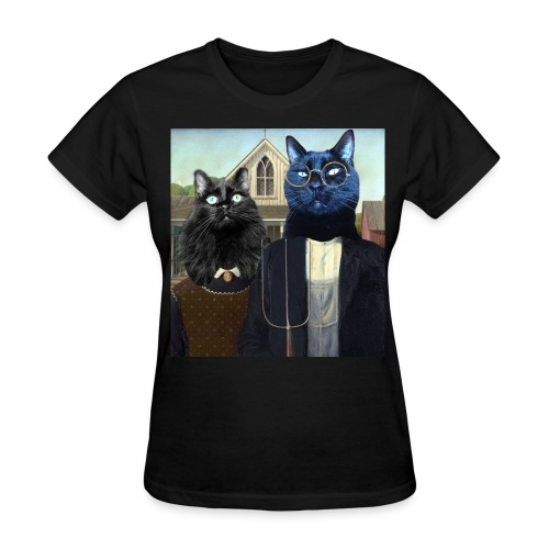 Titania and Nutter Gothic - Women's T-Shirt