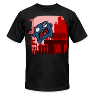 T-Shirts ~ Men's T-Shirt by American Apparel ~ Cookie Meat Boy Design #1
