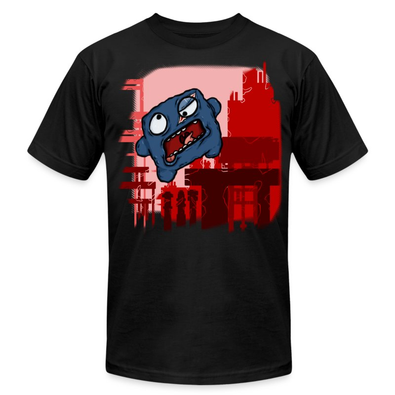 Cookie Meat Boy Design #1 - Men's T-Shirt by American Apparel