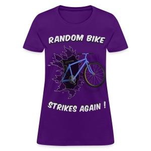 Random Bike Strikes Again! (Women) - Women's T-Shirt