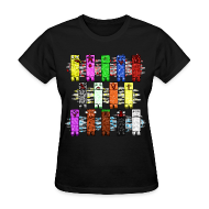 T-Shirts ~ Women's T-Shirt ~ Elemental Creeps Design #1 (Women)