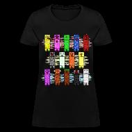 Women's T-Shirts ~ Women's T-Shirt ~ Elemental Creeps Design #1 (Women)