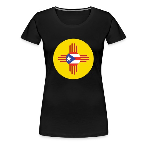 Boricua in New Mexico WOMEN - Women's Premium T-Shirt