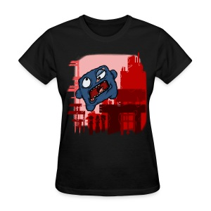 Women's T-Shirt - Rage inducing as a game can be, Meat Boy makes grown men cry. The cookie meat boy may have a screw loose or so, but that's ok, hes still a cutie.