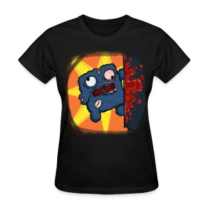 Cookie Meat Boy Design #2 (Women) - Women's T-Shirt