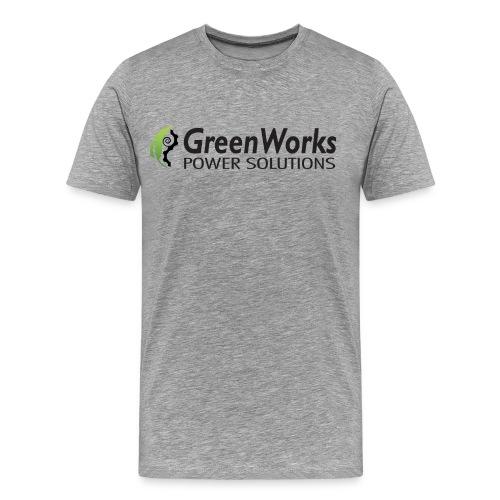 Greenworks Large Logo Cotton - Men's Premium T-Shirt