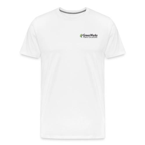 Greenworks Small Logo Cotton - Men's Premium T-Shirt
