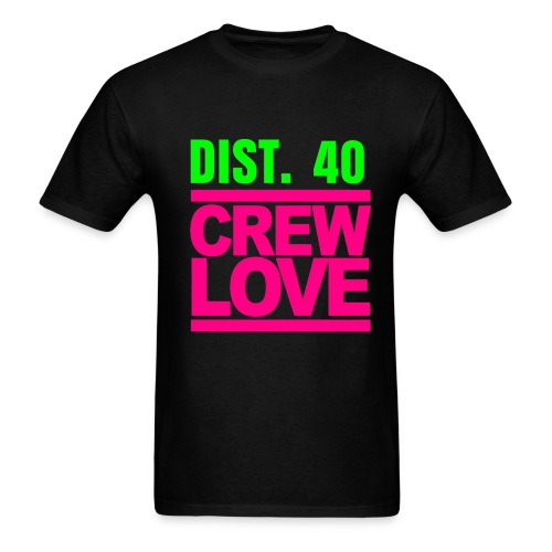 NORTHERN CALI- D40 (PLEASE CHOOSE BLACK FOR YOUR T-SHIRT COLOR) - Men's T-Shirt