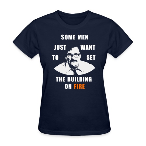 If They Move My Desk One More Time - Women's T-Shirt