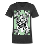 T-Shirts ~ Men's V-Neck T-Shirt by Canvas ~ SMASH MECHANICS