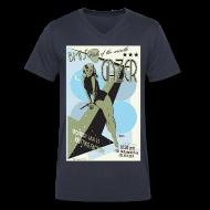 T-Shirts ~ Men's V-Neck T-Shirt by Canvas ~ GAZER