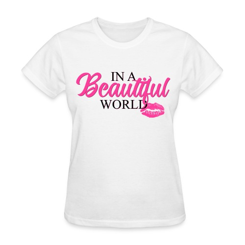 In A Beautiful World Manifesto Tee - Women's T-Shirt