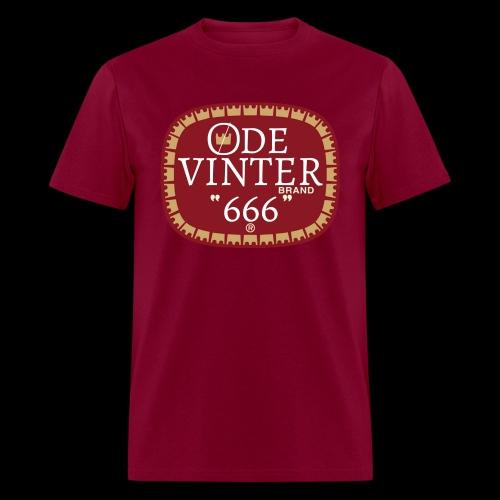 øde vinter brand 666 - Men's T-Shirt