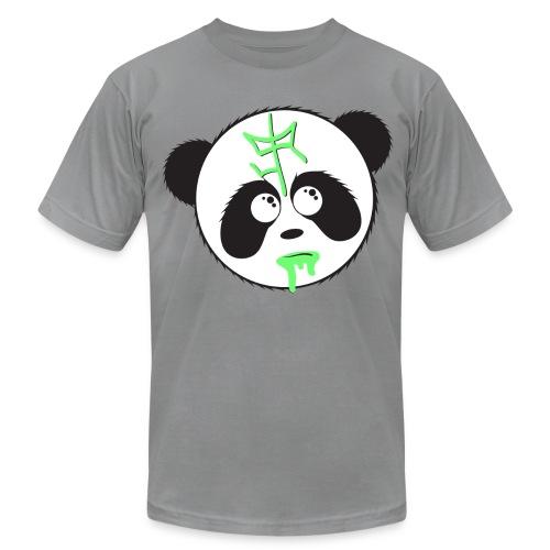 SIR Panda Drool - Grey - Men's Fine Jersey T-Shirt