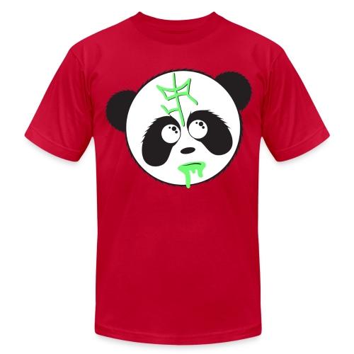 SIR Panda Drool - Purple - Men's Fine Jersey T-Shirt