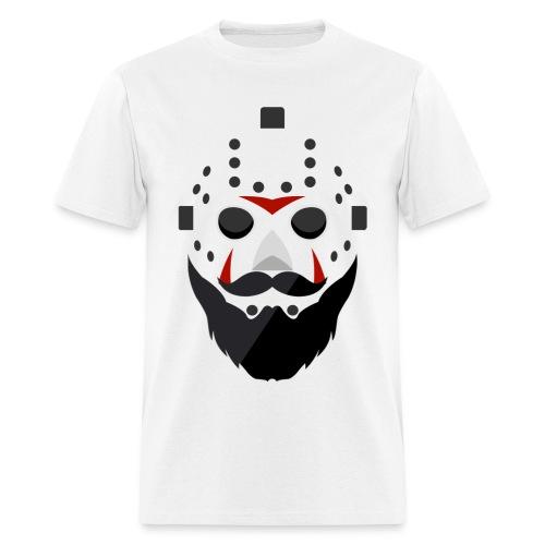Bearded Horror Shirt Alt - Men's T-Shirt