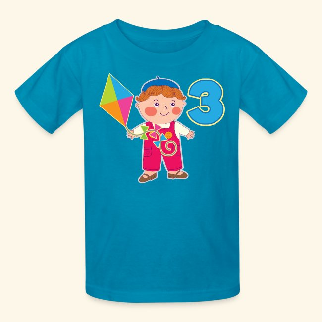 3rd Birthday T Shirt 3 Year Old Boy