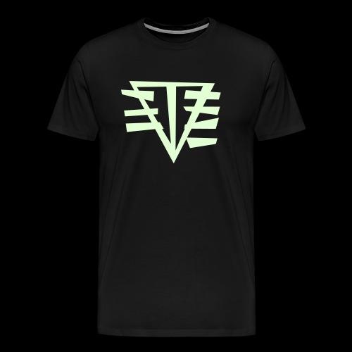 LOGO // GLOW-IN-THE-DARK - Men's Premium T-Shirt
